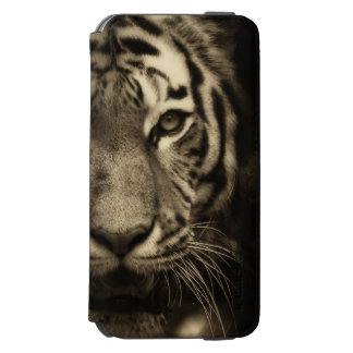 Gult fodral för iPhone 6 för tiger knappt där