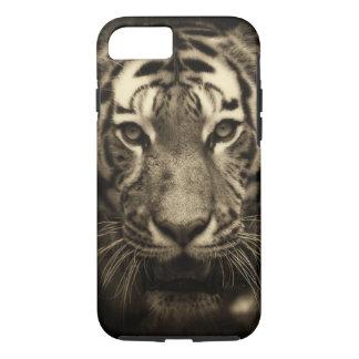 Gult fodral för iPhone 7 för tiger knappt där