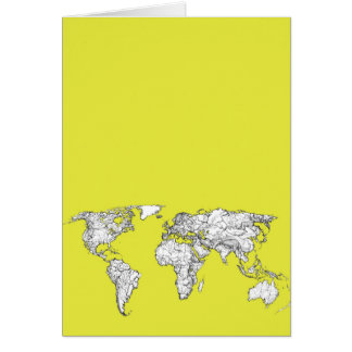 gult kartbokdiagram för kanariefågel OBS kort