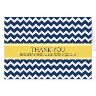 Gult kort för tack för blåttsparremöhippa