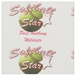 Gult namn för softballstjärnalag tyg