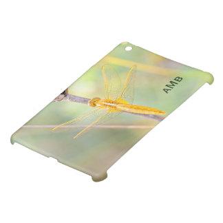 Gult och guld färgad slända iPad mini mobil skydd