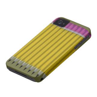 Gult ritar Case-Mate iPhone 4 fodral