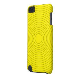 gult spiralt illusioniPod handlag 5g iPod Touch 5G Fodral