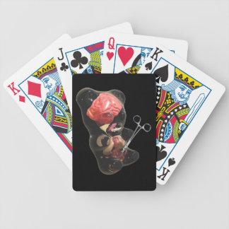 Gummi björnfoster/nyfödda leka kort spelkort