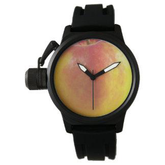 Gummi för svart för Apple kronabeskyddande Armbandsur
