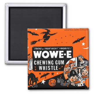 Gummi Halloween för hötorgskonstvintageWowee vax Magnet
