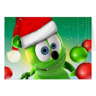 Gummibär julkort hälsningskort