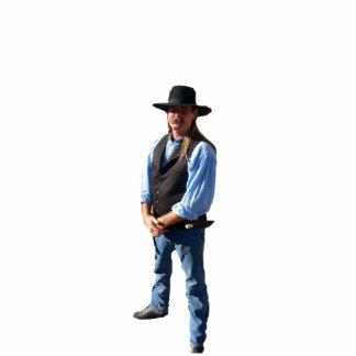 Gunslingers av väster - Noah riskerar Photo Cut Out
