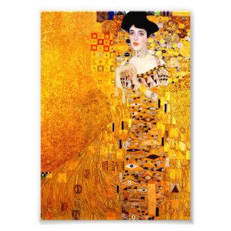Gustav Klimt Adele Bloch-Bauer vintageart nouveau Fototryck