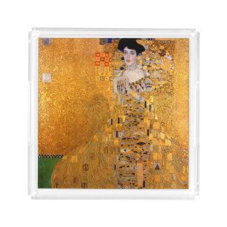 Gustav Klimt Adele vintage Bricka