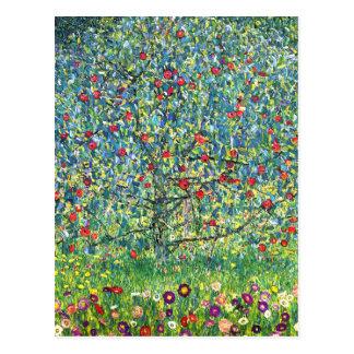 Gustav Klimt: Apple träd Vykort