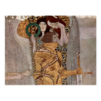 Gustav Klimt -Beethovenfries vykort