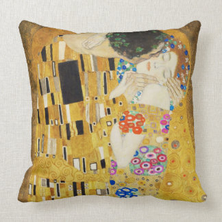 Gustav Klimt kyssart nouveau Kudde