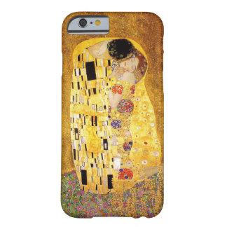 "Gustav Klimt ""kyssen "", Barely There iPhone 6 Fodral"