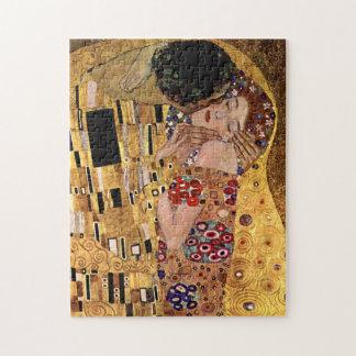 Gustav Klimt: Kyssen (specificera), Foto Pussel