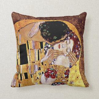 Gustav Klimt - kyssen - vintageart nouveau Kudde