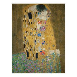 Gustav Klimt - kyssen Vykort
