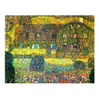 Gustav Klimt: Landhus på Atterseen Vykort