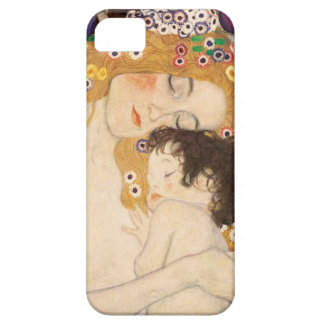Gustav Klimt mor och barn iPhone 5 Case-Mate Fodraler