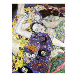 Gustav Klimt ~ oskulden Vykort