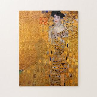 Gustav Klimt porträtt Pussel