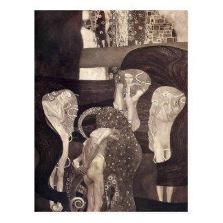 Gustav Klimt- rättsvetenskap (den statliga Vykort