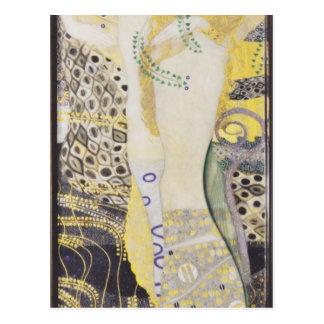 Gustav Klimt- Watersnakes Vykort