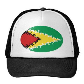 Guyana Gnarly flaggahatt Baseball Hat