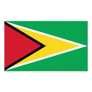 Guyana - Guyanese flagga Foton