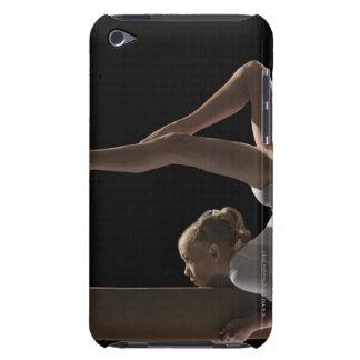 Gymnast på balansbom iPod touch hud
