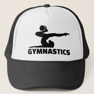 Gymnastikkvinna Truckerkeps