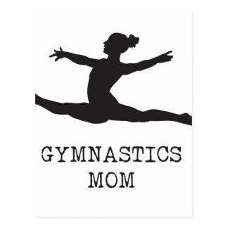 Gymnastikmamma Vykort