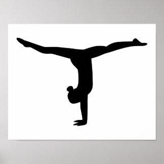 Gymnastikyoga Poster