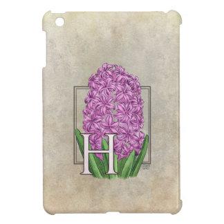 H för hyacintblommaMonogram iPad Mini Mobil Skal