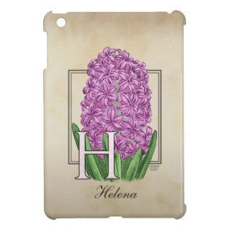 H för hyacintblommigtMonogram iPad Mini Mobil Skydd