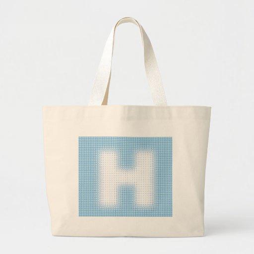H-Monogram Tygkassar