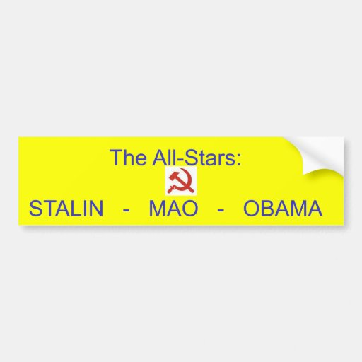 H och s, All-Stjärnorna: STALIN   -   MAO   -   NO Bildekaler