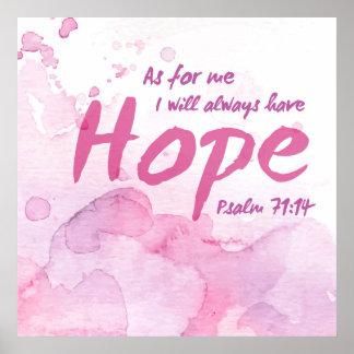 Ha alltid hoppkonsttrycket poster