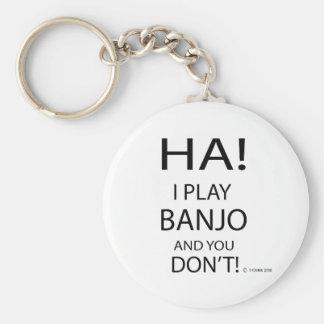 Ha-Banjo Rund Nyckelring