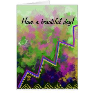 Ha en härlig dag! hälsningskort