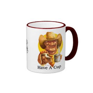 Ha en kopp ringer mugg