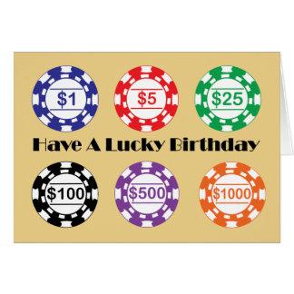 Ha en lycklig födelsedag hälsningskort