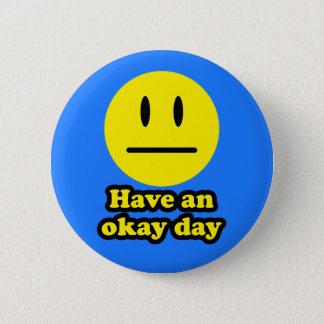 Ha en ok dag standard knapp rund 5.7 cm