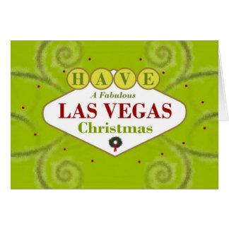 HA en sagolik Las Vegas julkort Hälsnings Kort