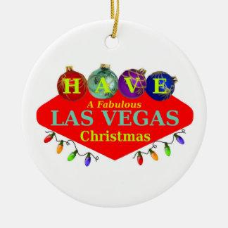 HA en sagolik Las Vegas julprydnad Jul Dekorationer