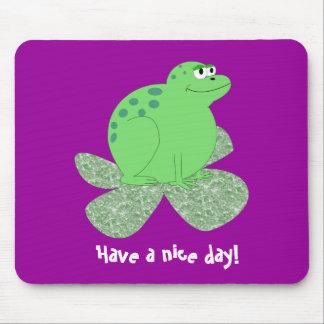 Ha en trevlig dag! mus matta