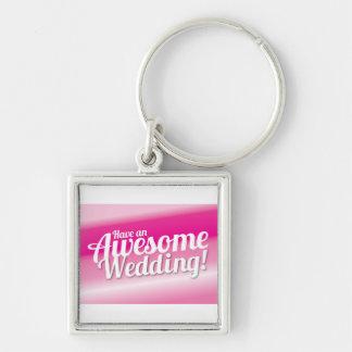 Ha ett enormt bröllop nyckelringar