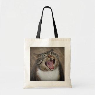 Ha Ha Ha som skrattar katten, hänger lös Tygkasse