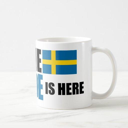 Ha ingen skräck, svensken är här muggen muggar